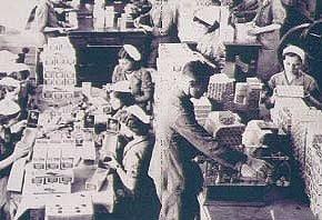 Lo stabilimento Modiano negli anni 20