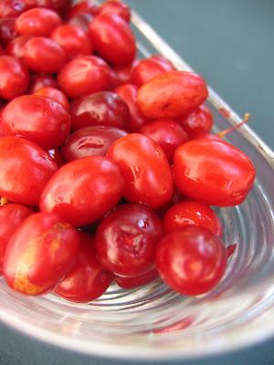 There are two Farmers markets in my hometown Cornelian Cherry Marmalade (Kızılcık Marmelatı)