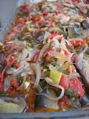 is one of the most popular olive oil dishes of Turkish cuisine Vegeterian Stuffed Eggplants (İmam Bayıldı)