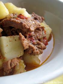 Almost Turkish Recipes Bowl Kebap Tas Kebabi