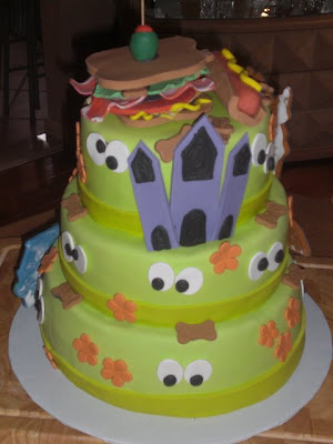this is a 3 tier scooby doo