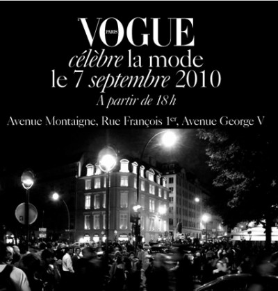 Avenue Fashions on Avenue Montaigne September 7th  2010   Vogue Fashion Celebration
