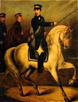 Pedro León Gallo Comandando las tropas