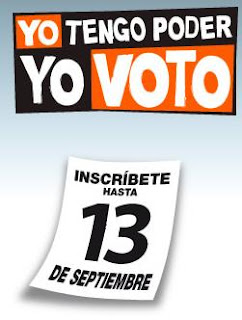 Atacameños a inscribirse y votar, tenemos el poder