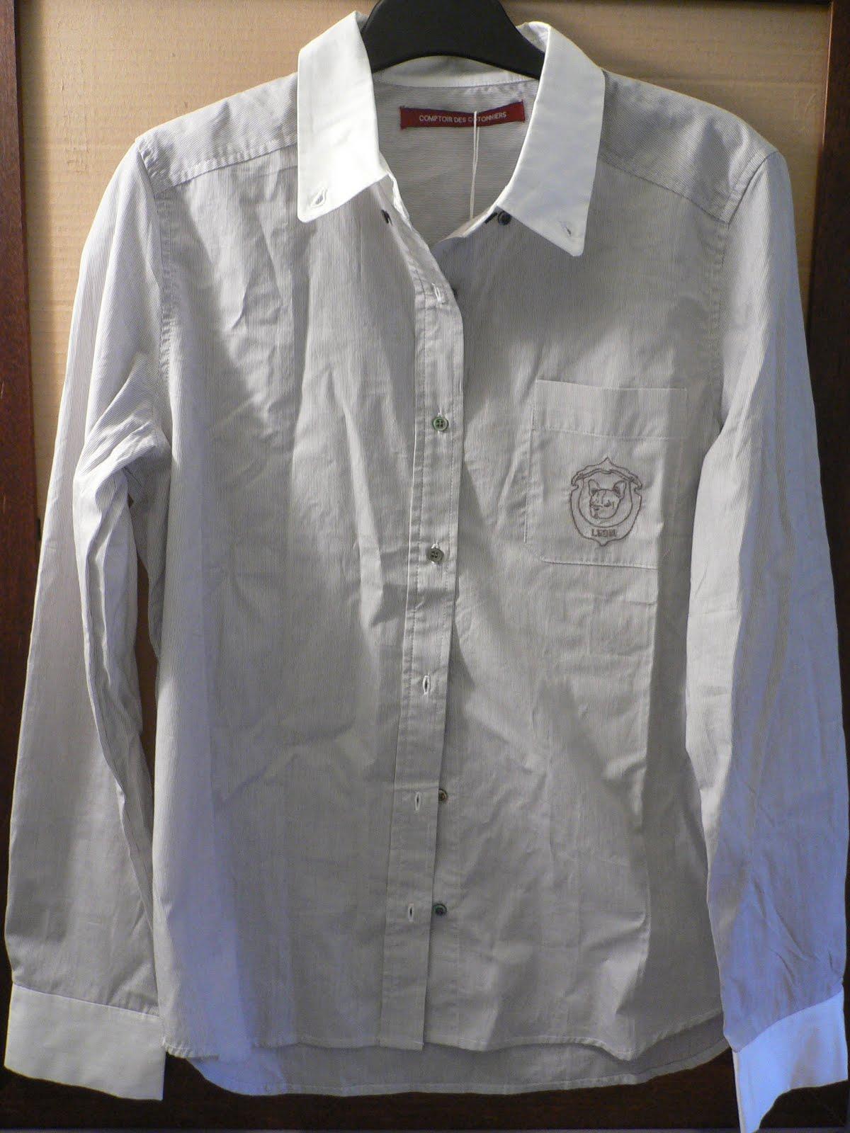 Le dressing de madame coco chemise comptoir des cotonniers - Tunique comptoir des cotonniers ...