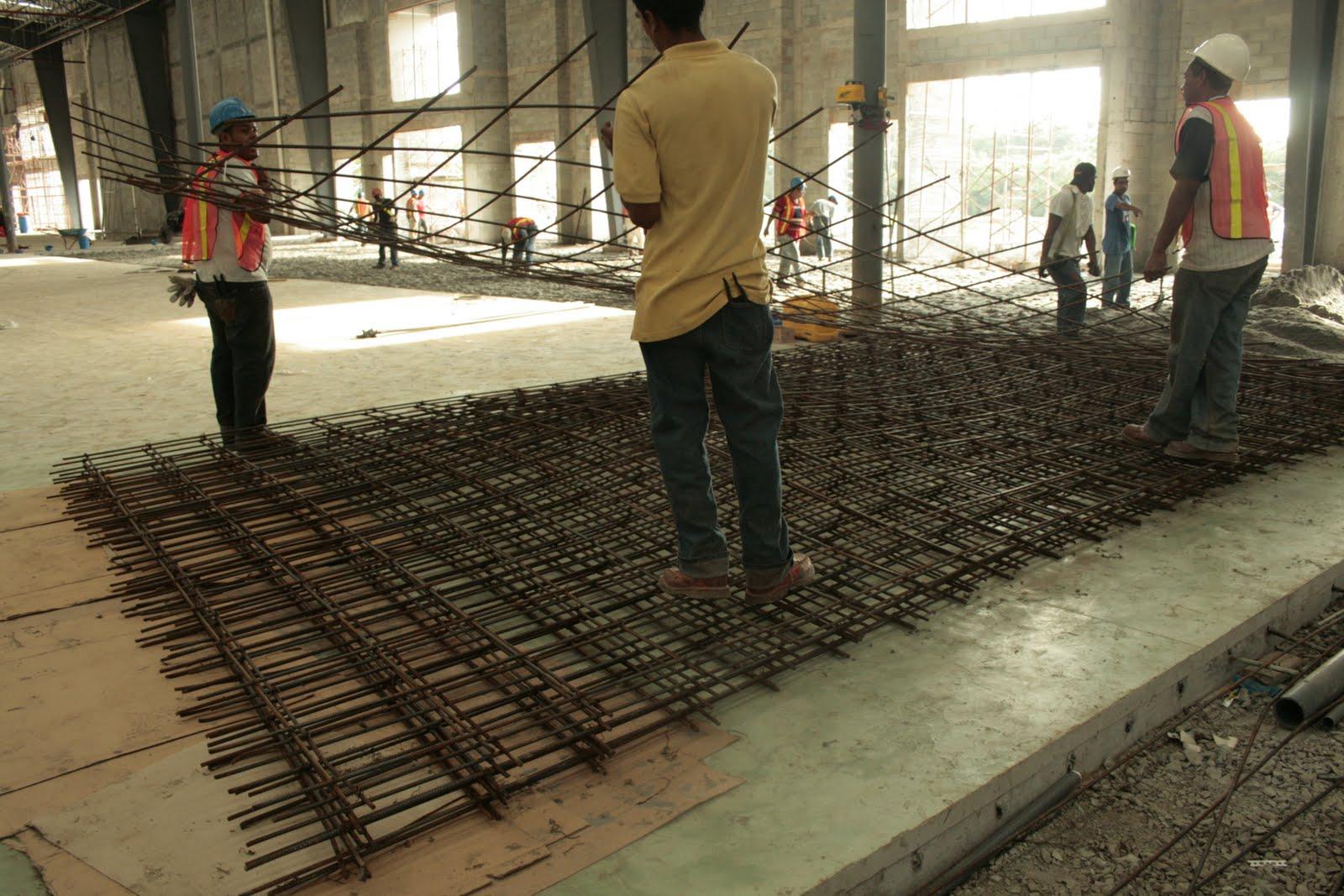 Enconcreto humedad bajo las losas de piso - Como se echa un piso de cemento ...