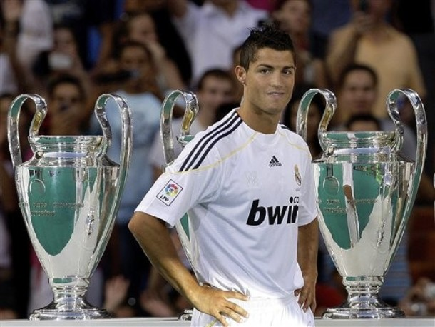 Estrellas del futbol: Cristiano Ronaldo