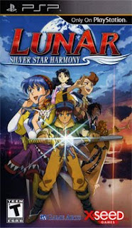 Lunar: Silver Star Harmony on PSP