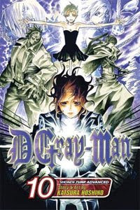 D.Gray-Man volume 10 manga