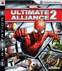 Marvel: Ultimate Alliance 2 on PS3