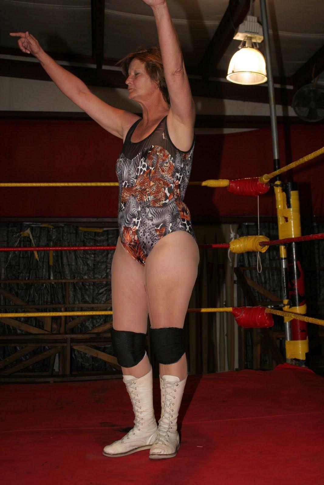 Magnificent Ladies Wrestling Referee Kellen James Raises The Hand ...