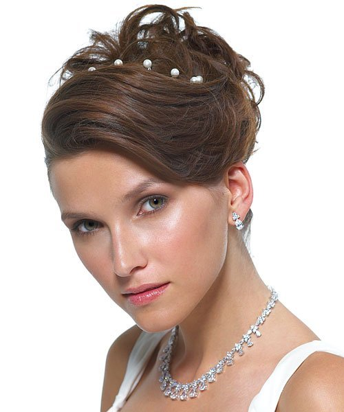 girls prom hairstyles. Cute Prom Updo Hairstyle for