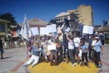 Protesto em Ribeirão Pires