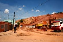 Moradores protestam contra obras do Rodoanel em Mauá