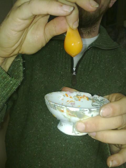 llema de huevo para temple