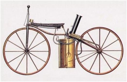 Resultado de imagem para primeiro motor a vapor moto