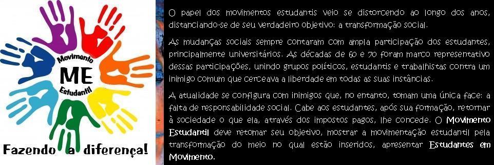 ME - Movimento Estudantil