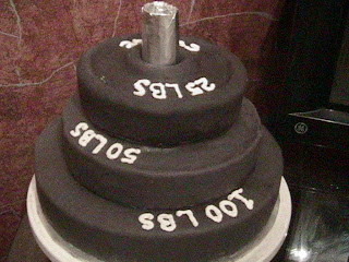 Barbell Cake Ideas