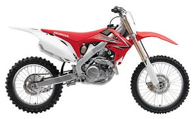 HONDA Motocross/Competition - 2009 Honda Motorcycle Models  2009 Honda CRF450R