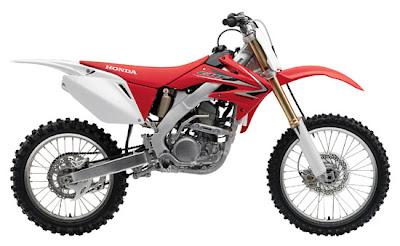 HONDA Motocross/Competition - 2009 Honda Motorcycle Models  2009 Honda CRF250R