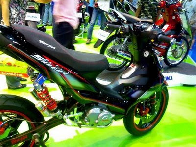Suzuki shogun 125 modification Style