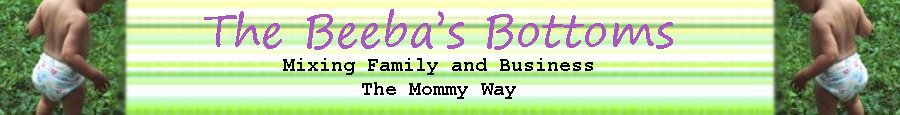 The Beeba's Bottoms: Mixing Family and Business the Mommy Way.