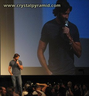 Hugh Jackman 2008 - Photo by San Diego video producer Patty Mooney of Crystal Pyramid Productions