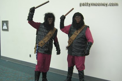 Comic Con Planet of the Apes Characters