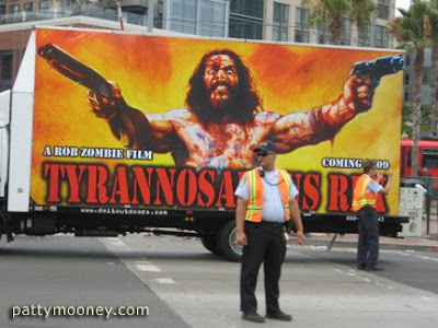 Comic Con vehicle with Rob Zombie film - Photo by San Diego video producer Patty Mooney of Crystal Pyramid Productions