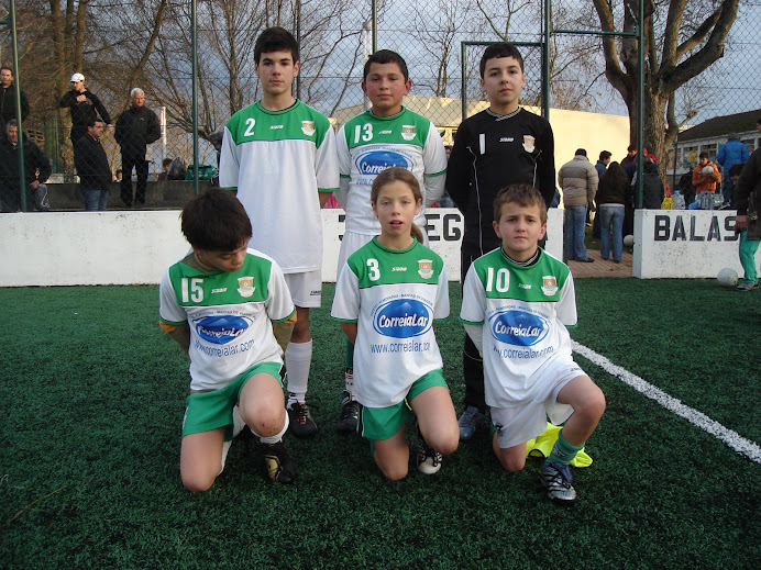Equipa de 87/88 em Balasar Dezembro de 2008