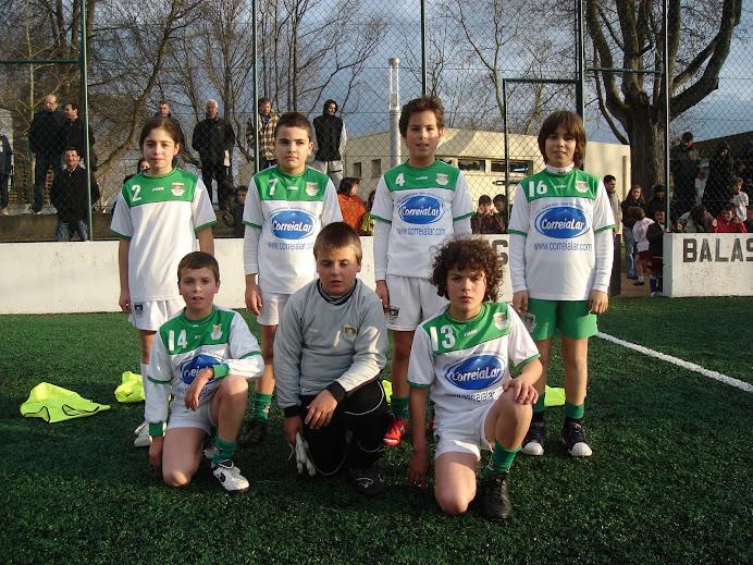 Equipa de 1999 em Balasar. Dezembro de 2008