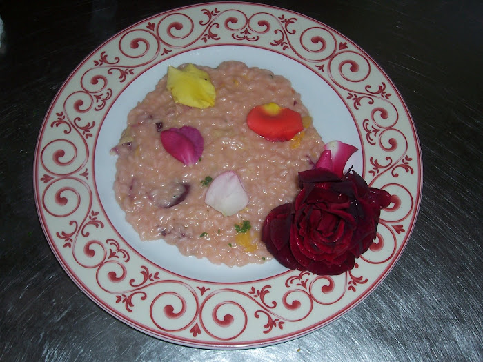 "risotto ai petali di rose ""new"""