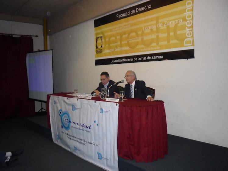 Y Ricardo Fernandez arrojó luz sobre un punto obscuro acerca de los derechos humanos en la región