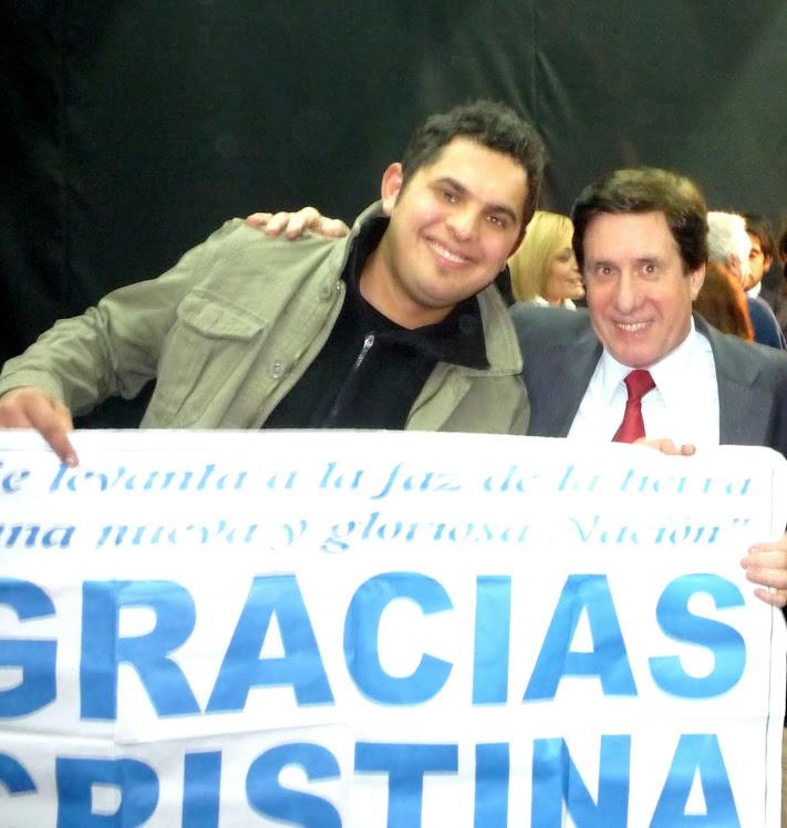 Apoyando al Intendente de Lanús Darío Díaz Pérez