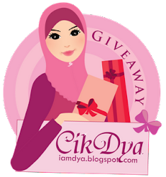 """Lucky Giveaway by Cik Dya"""