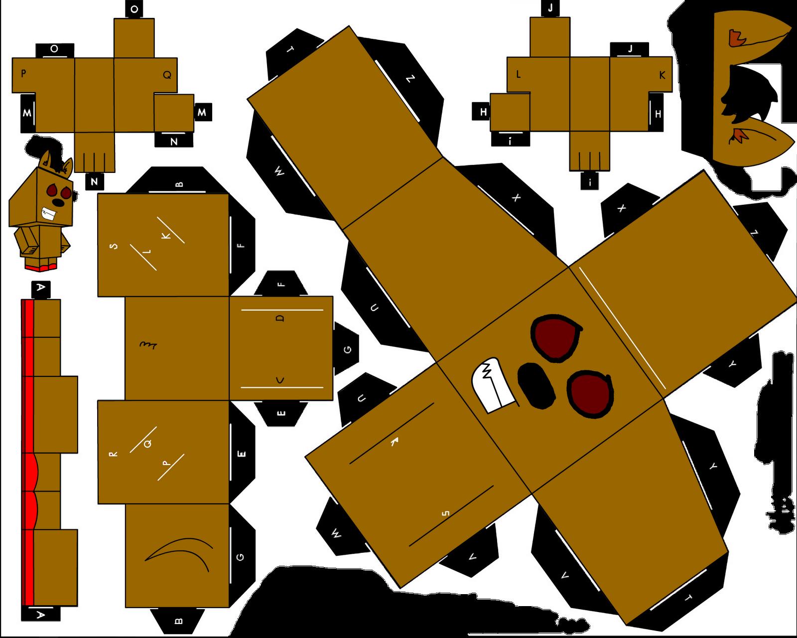 Home minecraft papercraft home design idea for Paper craft home