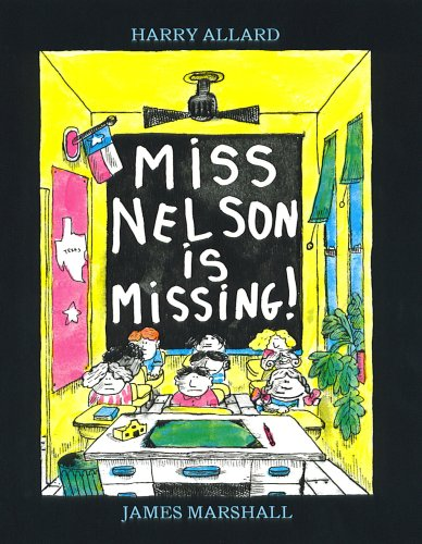 Miss nelson is missing book report