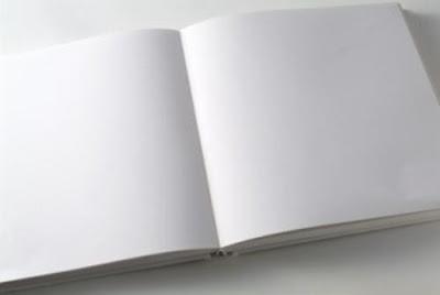libro en blanco dia eterno