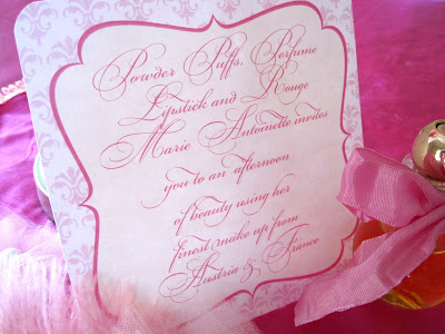 A Marie Antoinette Theme Party Kate Landers Events http://www.frostedevents.com