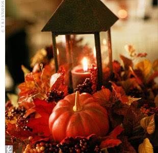 Fall Wedding Table Decoration Ideas