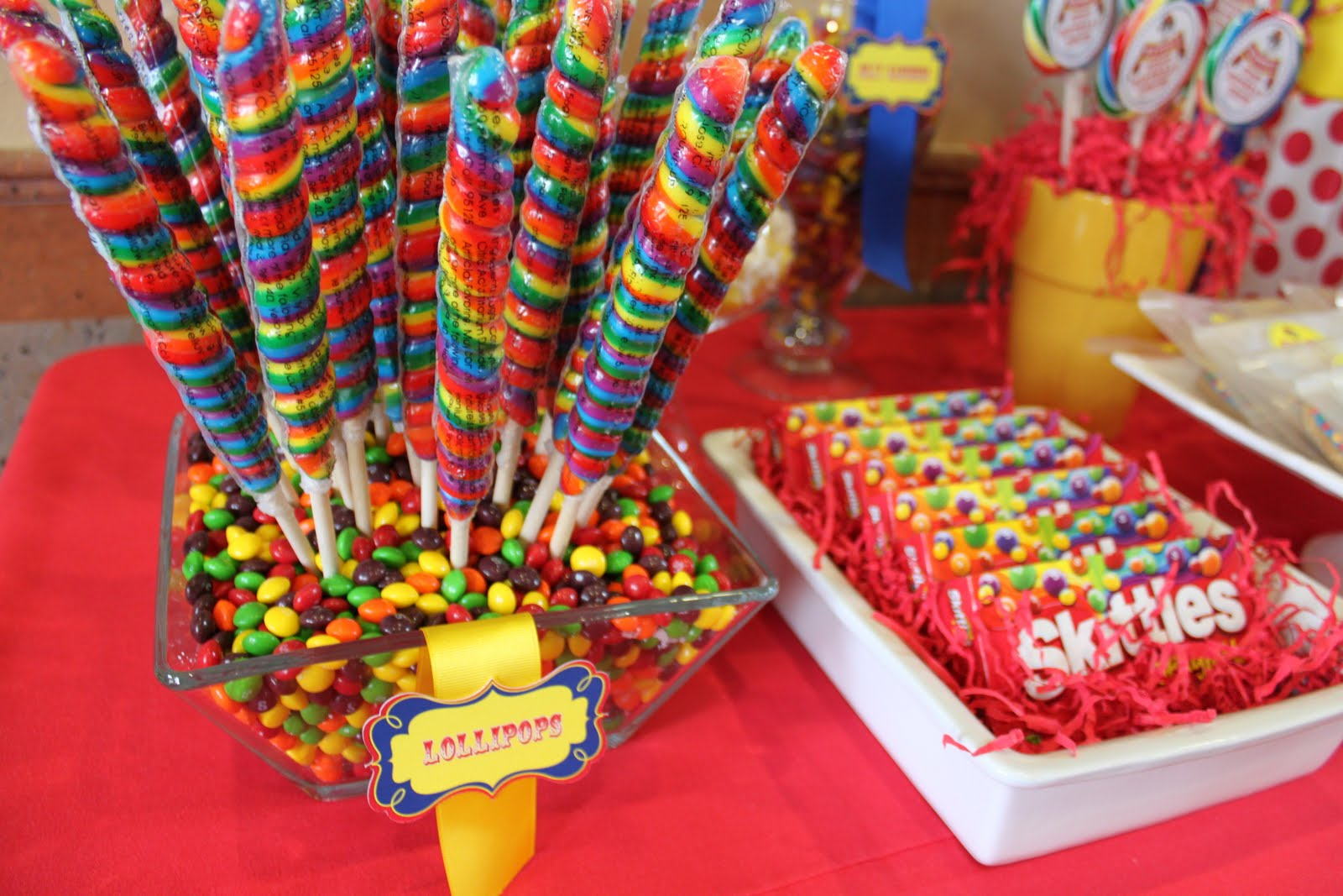 Candy Table Ideas for Birthday Parties