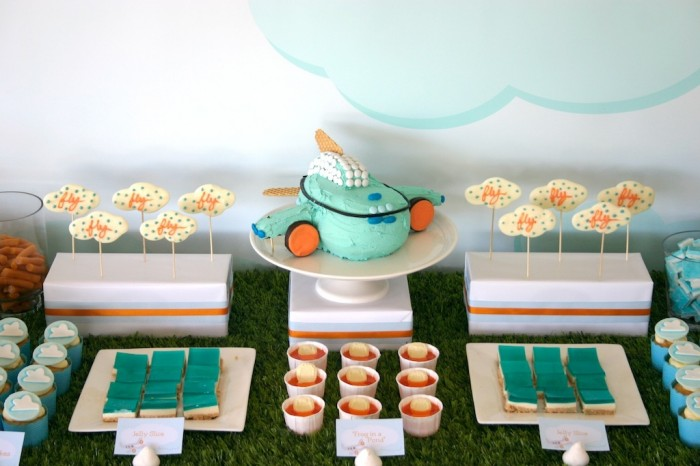 is for Party: Airplane Party Ideas