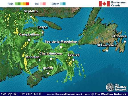 Weather Blog: Tropical Storm Earl Over Nova Scotia Update 2