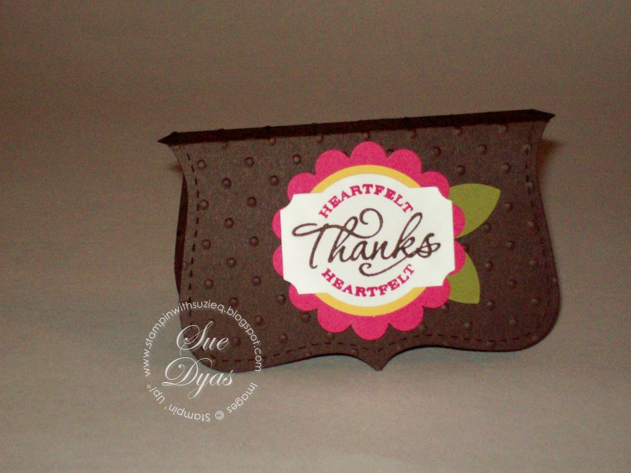 Stampin 39 with suzie q stamp club and hostess thank you for Best thank you gifts for hostess