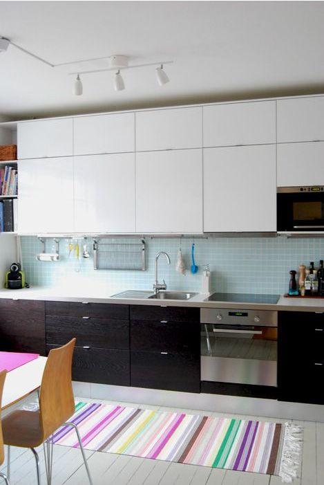 реальная кухня ИКЕА в реальном шведском доме