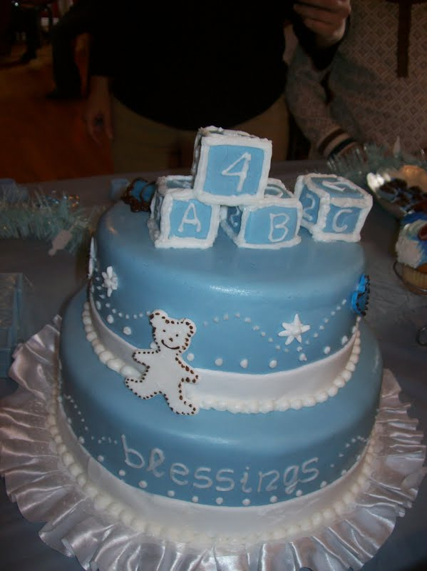 friend s baby shower i think it was my first baby boy shower cake