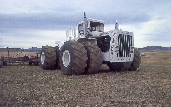 Big Bud Tractor : Damn fresh pics big bud the world s largest farm tractor