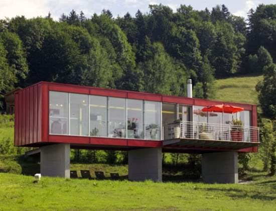 Damn fresh pics amazing homes made from shipping containers - Bithcin shipping container house ii ...