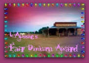 L'Aussie's Fair Dinkum Award