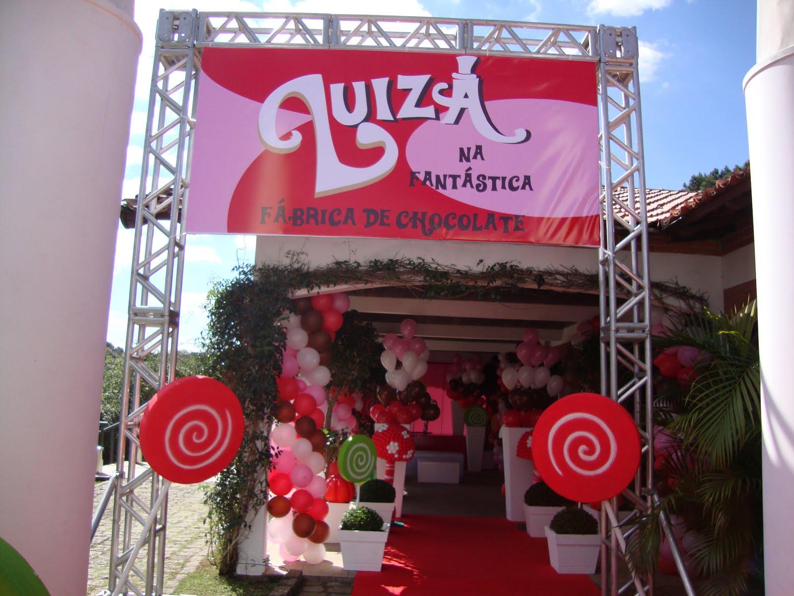 HAPPY FEST: LUIZA NA FANTÁSTICA FÁBRICA DE CHOCOLATE!